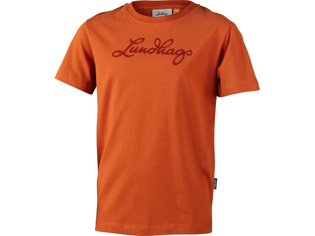 Lundhags T-shirt Kinderen, amber